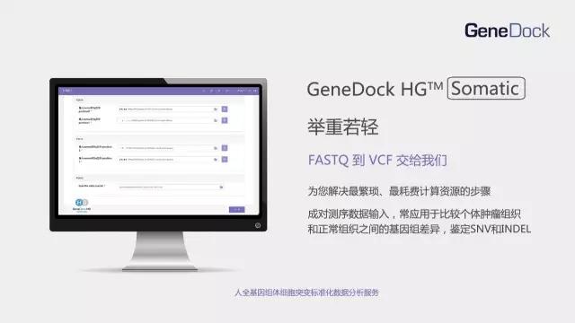 GeneDock HG Somatic:聚道科技发布人全基因组体细胞突变标准化数据分析服务